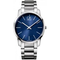 Calvin Klein reloj de caballero Colección City en acero.