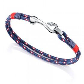 Viceroy Fashion pulsera de caballero en cordón azul.