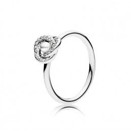 """Pandora anillo de mujer """"Nudo de Amor Luminoso"""""""