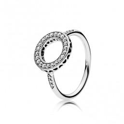 """Pandora anillo de mujer """"Círculo de Corazones"""" talla 14"""
