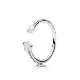 """Pandora anillo de mujer """"Corazones de Amor"""" talla 14"""