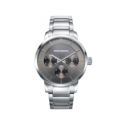 Mark Maddox reloj multifunción de la Colección Casual en acero.