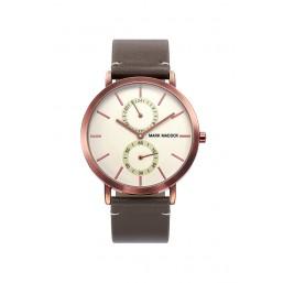 Mark Maddox reloj de caballero de la Colección Trendy en piel.
