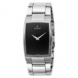 "Movado ""New Eliro"" reloj de caballero en acero."