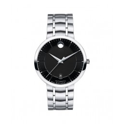 """Movado """"1881"""" reloj automático de caballero en acero"""