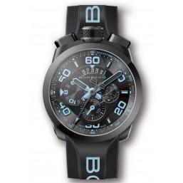 """Bomberg """"Bolt Neón Azul"""" reloj deportivo de caballero."""