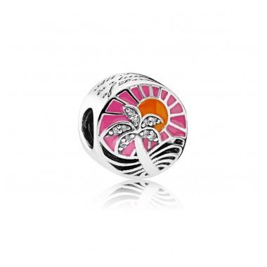 "Pandora charm ""Atardecer Tropical"""