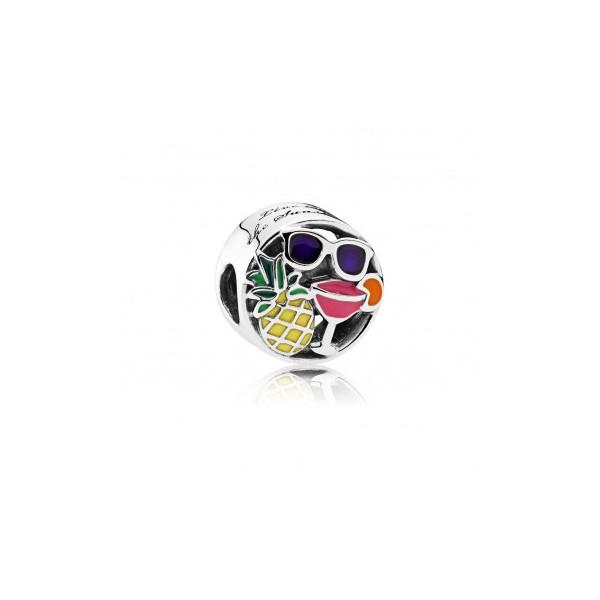 Pandora charm para pulsera diversi n estival con esmalte for Pandora jewelry amarillo tx