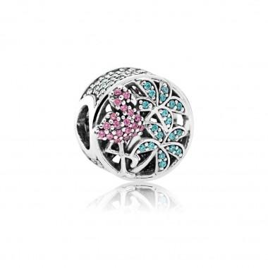 """Pandora charm """"Flamenco Tropical"""""""