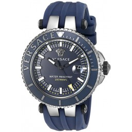"Versace ""V-Race Diver"" reloj de caballero en caucho."