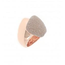 "Pesavento anillo de mujer ""Abbracci"" en plata"