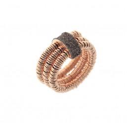 Pesavento anillo de mujer Colección Polvere di Sogni Hollow Rings.