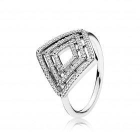 """Pandora """"Líneas geométricas"""" anillo"""