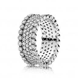 "Pandora anillo ""Brillo Lujoso"" en plata"