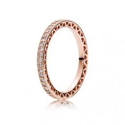 "Pandora Rose anillo de mujer ""Corazones Pandora"""