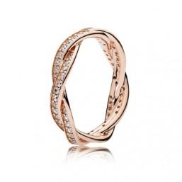 """Pandora Rose anillo de mujer """"Entrelazado"""""""
