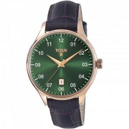 "Tous ""1920"" reloj de caballero en piel"