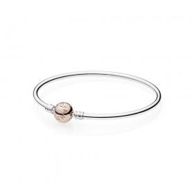 Pandora pulsera rígida de mujer con cierre Rose.