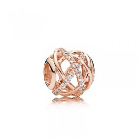 "Pandora Rose charm ""Galaxia"" calado para pulsera"