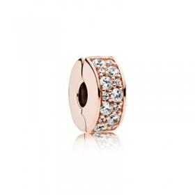 """Pandora Rose clip para pulsera """"Elegancia Brillante"""""""