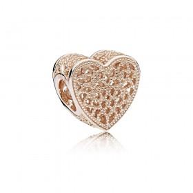 "Pandora Rose charm para pulsera ""Lleno de Amor"""
