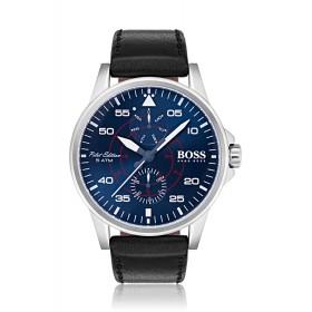 Hugo Boss reloj de caballero Aviator en piel