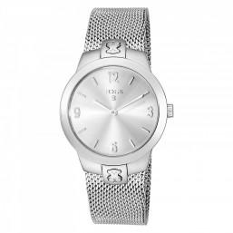 """Tous reloj de mujer """"Tmesh"""" en acero."""
