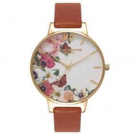 Olivia Burton reloj de mujer Colección Flower Show en piel