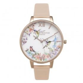 Olivia Burton reloj de mujer Colección Painterly Print en piel