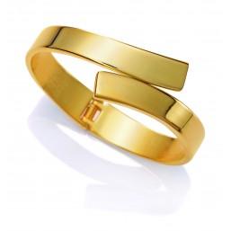 Viceroy Fashion pulsera rígida de mujer dorada.