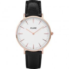 Cluse reloj de mujer La Bohème Rose Gold/White.