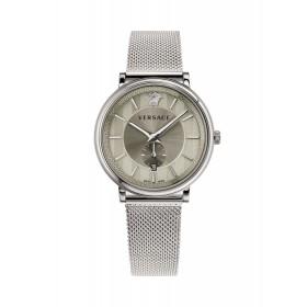 Versace reloj de caballero V-Circle en acero.
