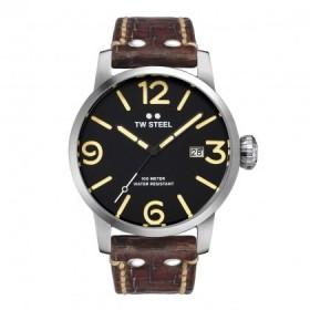 TW Steel reloj de caballero Maverik en piel.