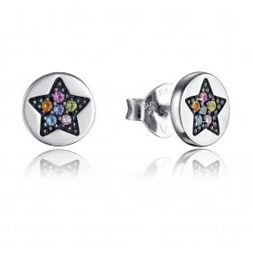 Viceroy Jewels pendientes de mujer Colección Kiss en plata.