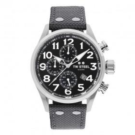TW Steel reloj de caballero Modelo Volante en textil gris.