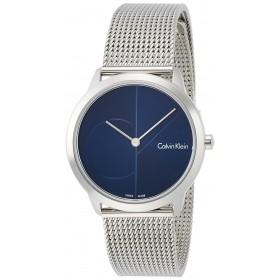Calvin Klein reloj de mujer Colección Minimal en acero.