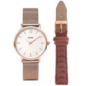 Cluse reloj de mujer X Negin Gift Box con dos correas.