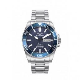 Sandoz reloj de caballero Colección Diver en acero.