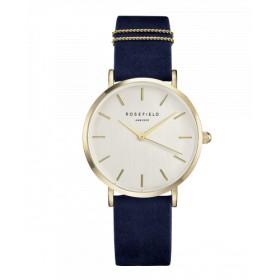Rosefield reloj de mujer Colección The West Village en piel.