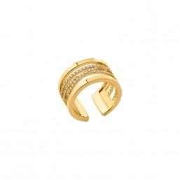"""Les Georgettes anillo de mujer dorado """"Liens"""""""