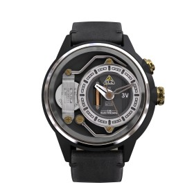 "The Electricianz reloj de caballero ""The DressCode"" en piel."