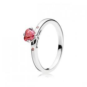"""Pandora anillo de mujer """"Tú & Yo"""" en plata."""