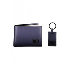 Calvin Klein Black Label cartera y llavero de caballero Hi-Profile