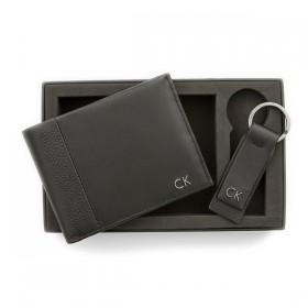 Calvin Klein caja de regalo con cartera y llavero Modelo New Nathan.