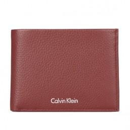 Calvin Klein cartera de caballero Modelo Pebble Leather.