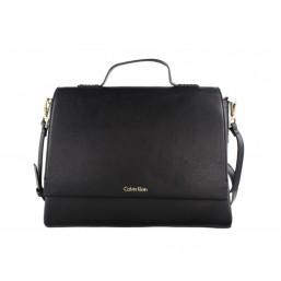 Calvin Klein bolso de mujer Modelo Frame Top Handle Satchel.
