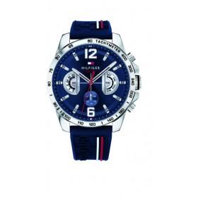 Toomy Hilfiger reloj multifunción de caballero Modelo Decker Blue.
