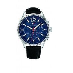 Tommy Hilfiger reloj multifunción de caballero Modelo Gavin Black.