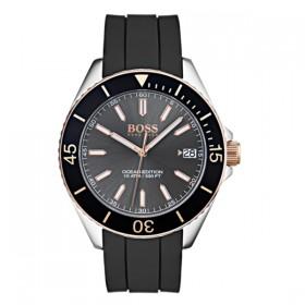 Hugo Boss reloj de caballero Modelo Ocean Edition en caucho.