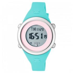 """Tous reloj de niña """"Soft Digital"""" en silicona menta."""